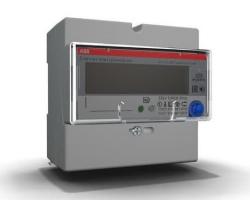 Электросчетчик ABB E31 однофазный четырехтарифный 80A 2CMA105937R1000