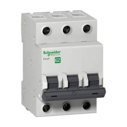 Автоматический выключатель Schneider Electric Easy 9 3 полюса C6 EZ9F34306