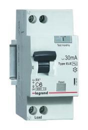 Дифференциальный автомат двухполюсный 6А 30mA (RX3)