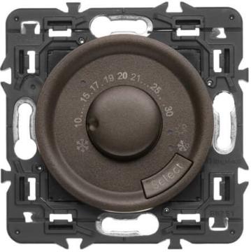 Терморегулятор для теплых полов Celiane (графит) 067405+067989+080251