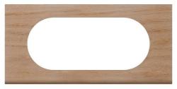 Рамка Сeliane 4/5 модулей (беленый дуб) 069055