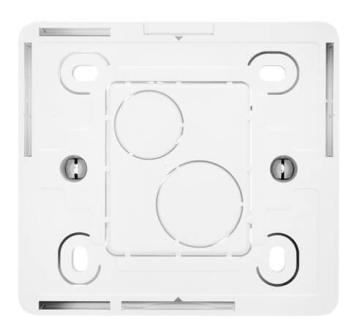 Коробка одноместная для накладного монтажа Сeliane (белая) 080241