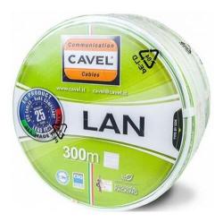 Кабель витая пара (FTP), 4 пары, категория 5е с экраном Cavel (Италия) LAN 541