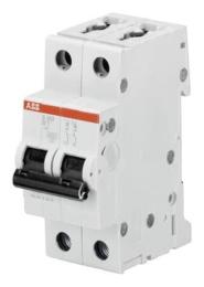 Автоматический выключатель ABB S202 B10 (хар-ка B) 2CDS252001R0105