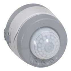 Датчик движения Plexo 360° настенный пылевлагозащищенный (серый) 069740