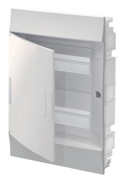 Бокс в нишу ABB Mistral41 на 24 мод. непрозрачная дверца (без клемм) 1SLM004100A1105