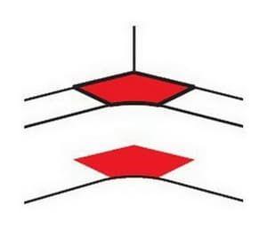 Угол внутренний для DLP 50х105