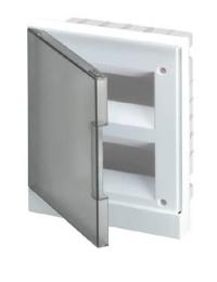 Бокс ABB Basic E в нишу на 24 мод. серая дверца (с шиной) 1SZR004002A1207