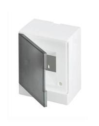 Бокс ABB Basic E настенный на 2 мод. серая дверца (без клемм) 1SZR004002A2200