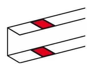 Накладка на стык профиля DLP 50х105