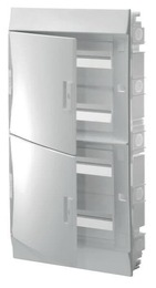 Бокс в нишу ABB Mistral41 на 72 модулей, непрозрачная дверца (с шиной) 1SLM004101A1110
