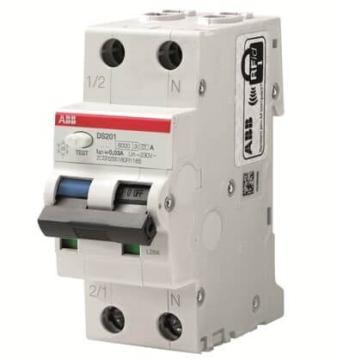 Дифференциальный автомат ABB DS201 20А 30mA характеристика C тип A 2CSR255180R1204