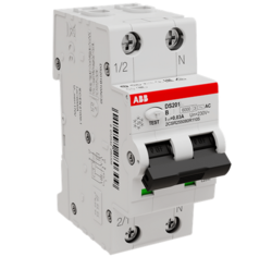 Дифференциальный автомат ABB DS201 13А 30mA тип AC 6kA (хар-ка B) 2CSR255080R1135
