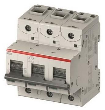 Автоматический выключатель АВВ S803 C100 (25kA)