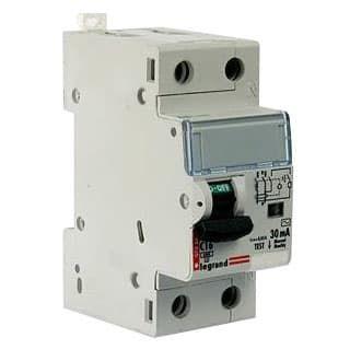 Дифференциальный автомат двухполюсный 40А 30mA (DX3) 411006