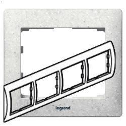 Рамка Galea life четырехместная горизонтальная (кориан Everest) 771714