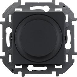 Светорегулятор нажимной 300 Вт Inspiria (антрацит) 673793