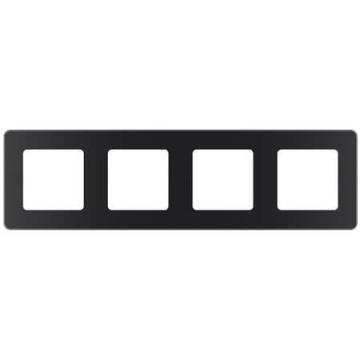Рамка четырехместная Inspiria (антрацит) 673963