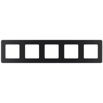 Рамка пятиместная Inspiria (антрацит) 673973