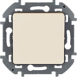 Кнопочный переключатель Inspiria (слоновая кость) 673691