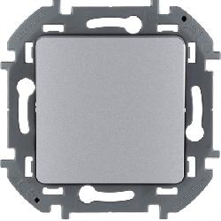 Кнопочный переключатель Inspiria (алюминий) 673692
