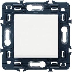 Выключатель Legrand (Мозаик) (белый) 077010+080251