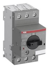 Автомат ABB MS132-0.16 100 kA для защиты электродвигателей с регулируемой тепловой защитой 0.10-0.16А 1SAM350000R1001