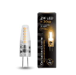 Светодиодная лампа Gauss LED 2Вт. G4 220V силикон (теплый свет) 107707102
