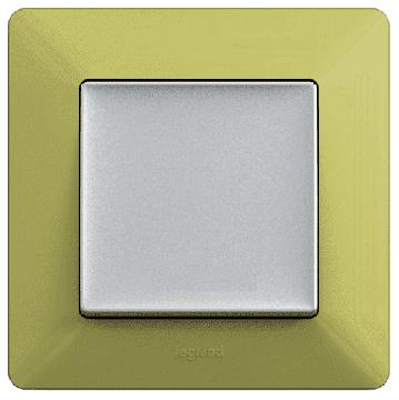 Артикул: 754081, Рамка одноместная Valena Life (лайм)