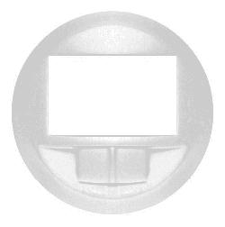 Лицевая панель Legrand Celiane для датчика движения без нейтрали с функцией ручного управления (белая)