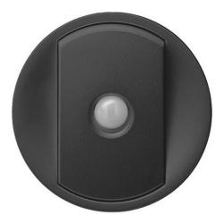 Лицевая панель Legrand Celiane для переключателя со встроенным датчиком движения (графит) 067922