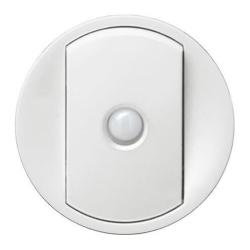 Лицевая панель Legrand Celiane для переключателя со встроенным датчиком движения (белая) 068012