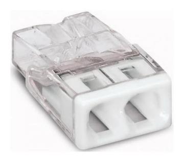 Клемма WAGO 2x2.5мм для распределительных коробок с пастой       2273-0242