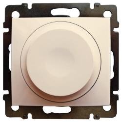 Cветорегулятор поворотно-нажимной Valena 300Вт LED (слоновая кость) 774163