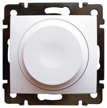 Cветорегулятор поворотно-нажимной Valena 300Вт LED (белый)  774263