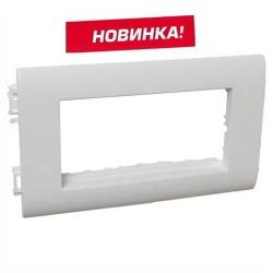 Суппорт 4 модуля Mosaic для крышки 75мм Metra (Новинка) 638072