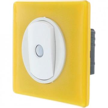 Переключатель со встроенным датчиком присутствия Celiane (белый) 067012+068012+080251