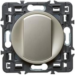 Переключатель кнопочный Celiane (титан) 067031+068301+080251