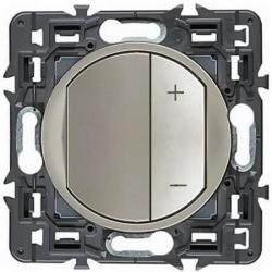 Светорегулятор 400Вт для светодиодных диммируемых ламп Celiane  (титан) 067083+065183+080251