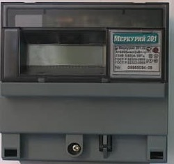 Меркурий счетчик 201.22 однотарифный ЖКИ с PLC модемом