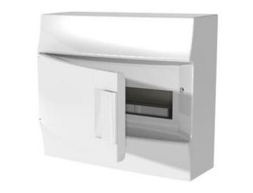 Бокс настенный ABB Mistral41 на 12 мод. непрозрачная дверца (без клемм) 1SPE007717F0410
