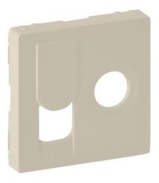 Лицевая панель Legrand Valena Life для розетки RJ45 и TV (сл. кость) 754831