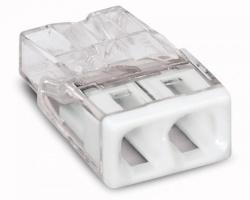 Клемма WAGO 2x2.5мм для распределительных коробок без пасты 2273-0202
