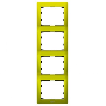 Рамка Galea life четырехместная вертикальная (зеленый) 771928