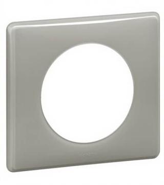 Рамка одноместная Celiane (серый глянец) 066601