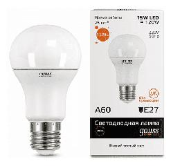 Светодиодная лампа Gauss LED Elementary 15Вт. Е27 (теплый свет)
