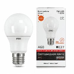Светодиодная лампа Gauss LED Elementary 7Вт. Е27 (теплый свет) 23217A
