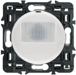 Датчик движения двухпроводной Celiane 250Вт без нейтрали без функции ручного управления (белый) 067026+068299+080251