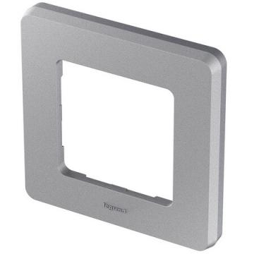 Рамка одноместная Inspiria (алюминий) 673932