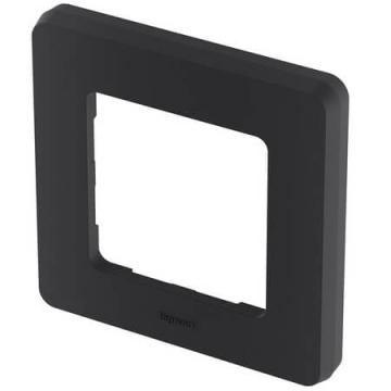 Рамка одноместная Inspiria (антрацит) 673933
